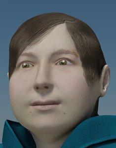 fat female human 3ds