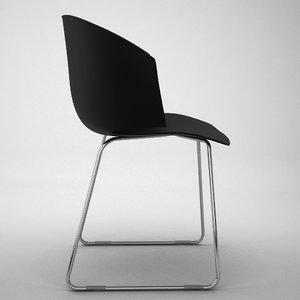 grace chair 3d model