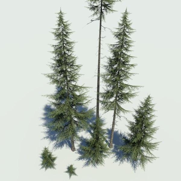 grim designs spruce pack 3d model
