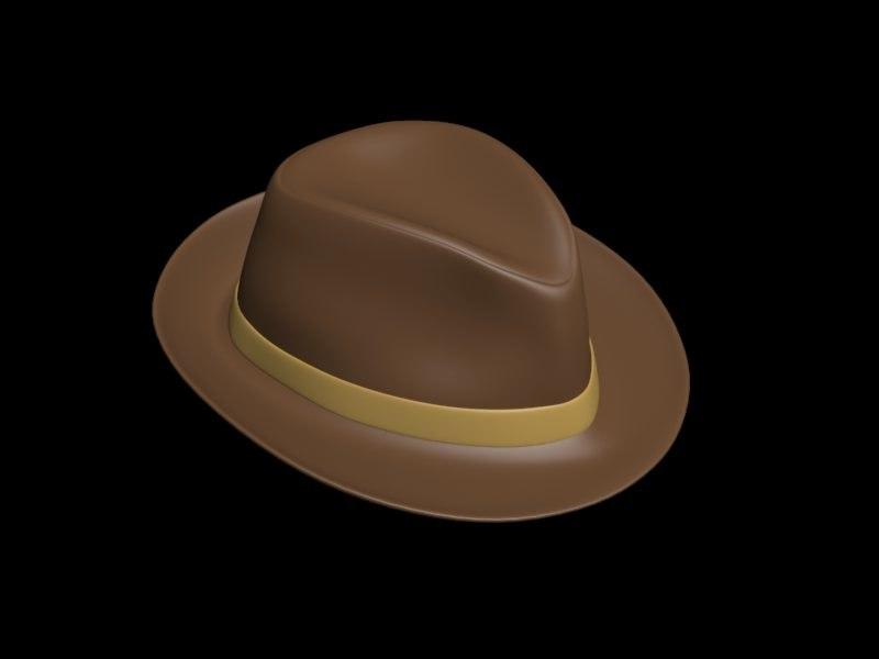 cool hat 3d model