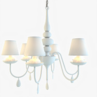 3ds max ideal-lux blanche sp6