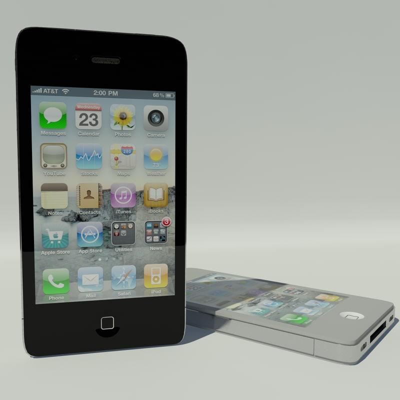 3ds max iphone 4