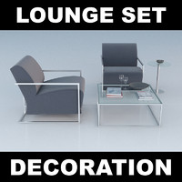 set lounge chair max