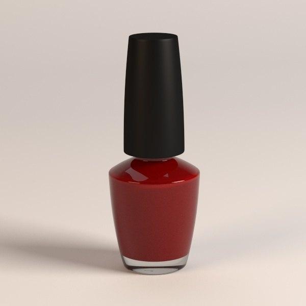 nail nailpolish polish 3d model