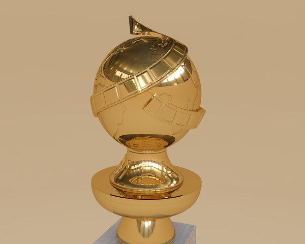 3d golden globe awards