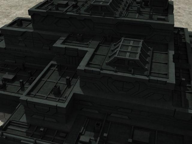 3dsmax bilding sci-fi