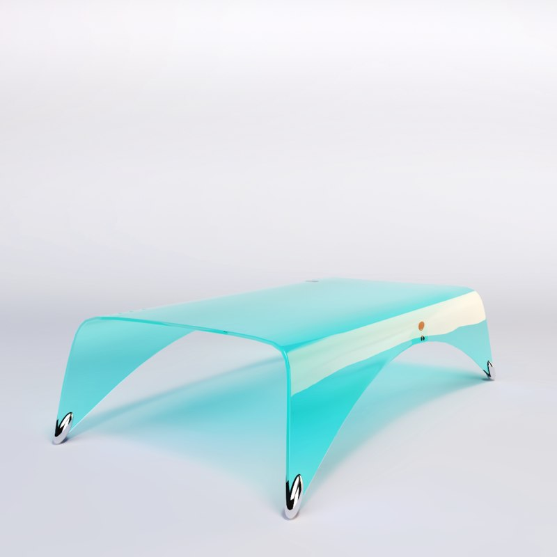 3d model of designer coffee table