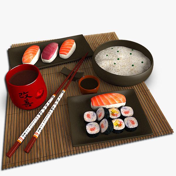 sushi set max