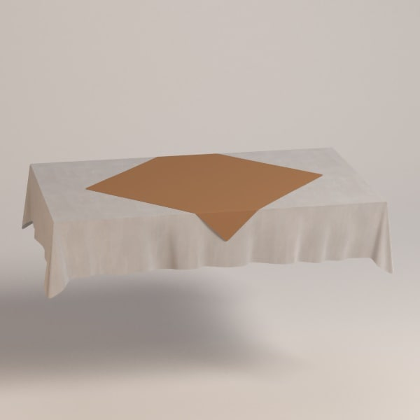 square tablecloth fbx