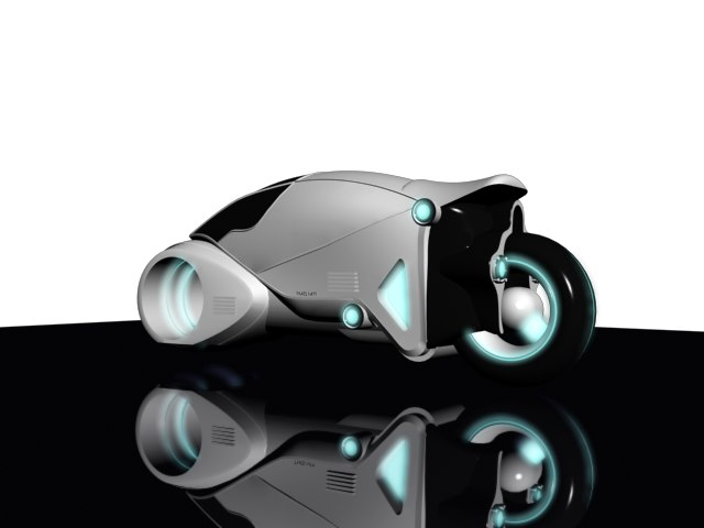 3ds tron light cycle