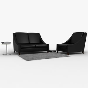 vernon l3 chair 3d model
