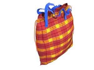 3d model storage bag