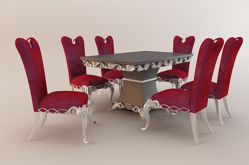 ornate dinning table max