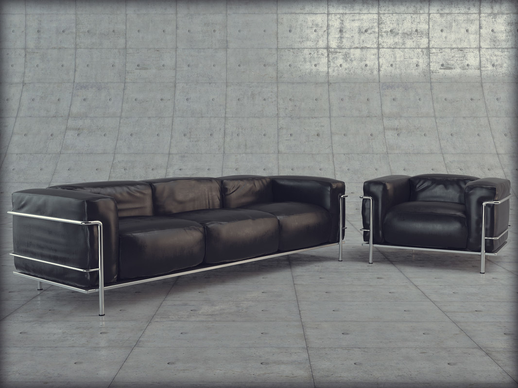 3dsmax le corbusier