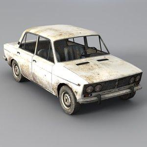 vaz 2103 3d model
