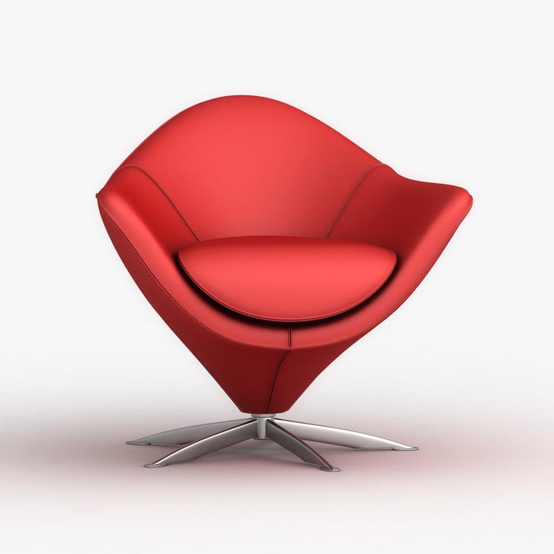 3ds max popsystem pop40 swivel chair