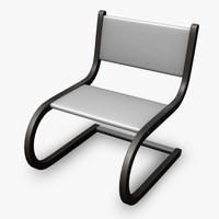 obj modern chair