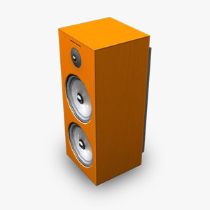 3d speaker modern model