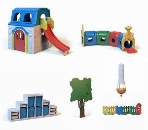3d model toys children