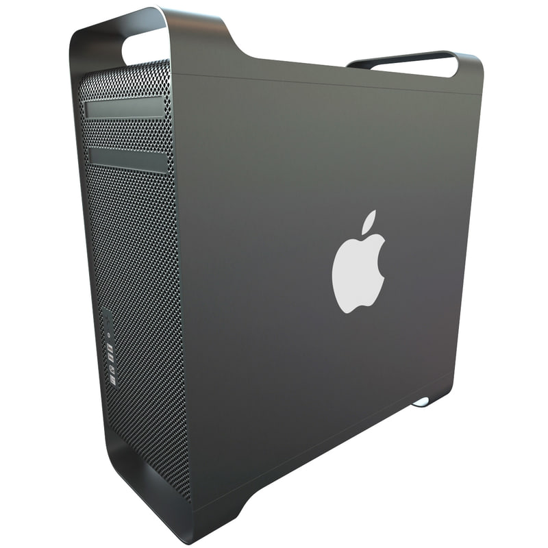 3d apple mac pro v2
