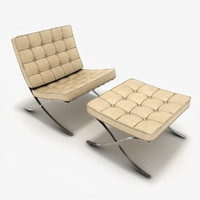 3d 3ds chair stool barcelona