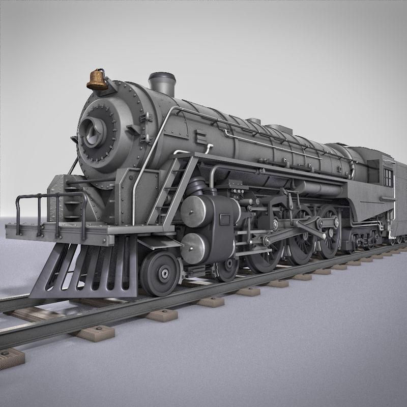 Berkshire Steam Locomotive