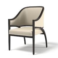 bernhardt palomar armchair 3ds