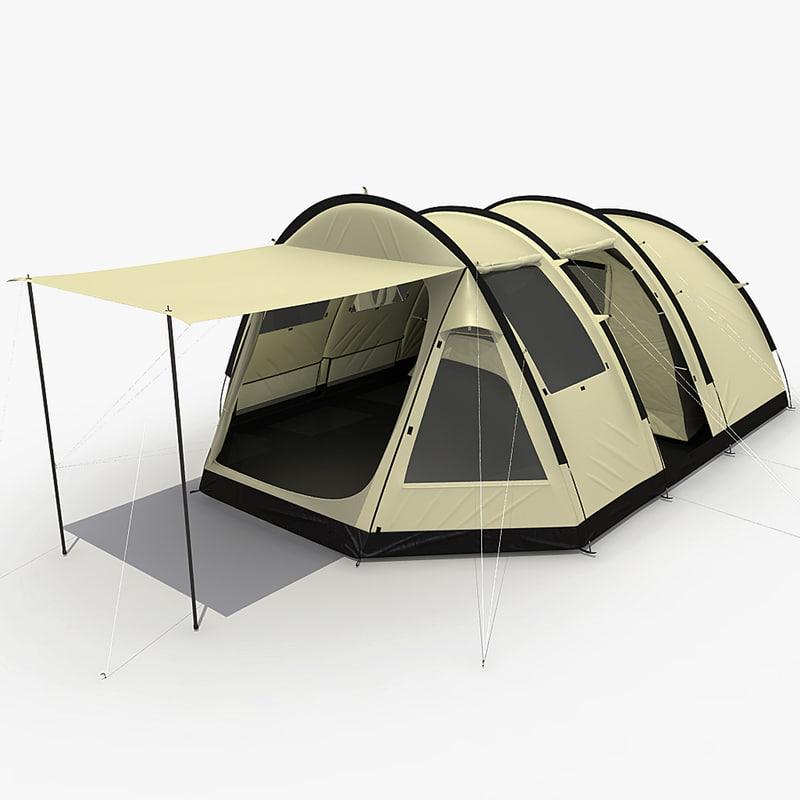 3d camping tent v3
