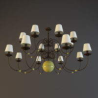 lamp chandelier 3d max
