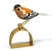 3dsmax cloissonne bird gold