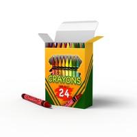 school crayons dxf