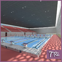 POOL OLIMPIC INDOOR SCENE