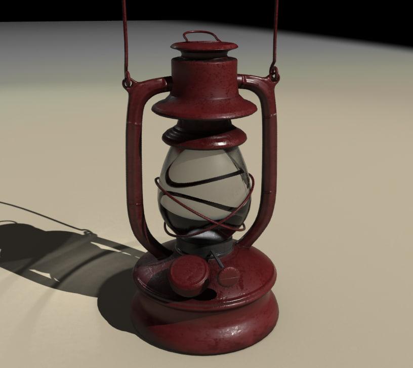 max antique lantern
