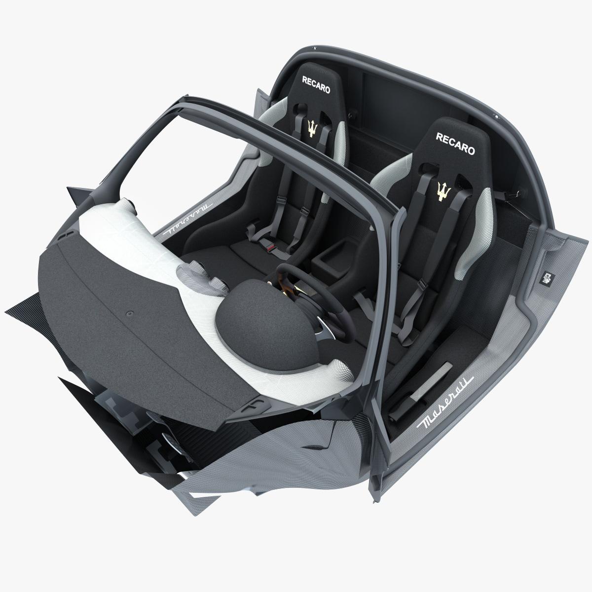 maserati mc12 interior v2 obj