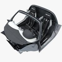 Maserati MC12 Interior V2