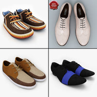 3d men shoes v4
