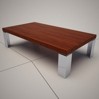 3d cattelan italia momo coffee table model