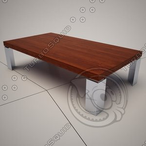 3d cattelan italia momo coffee table model