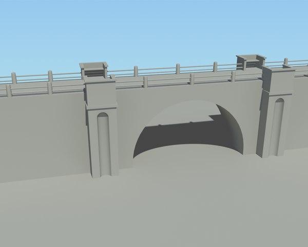 free max model stone bridge