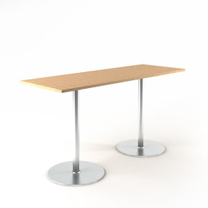 3d table s1126 model