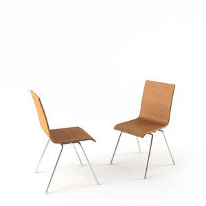 c4d soho beech chair