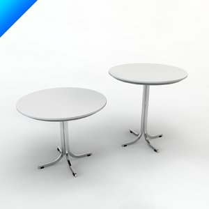 3d model t870 table design pierre paulin