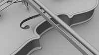 violin 3d ma