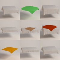square tableclothes