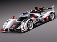 Audi R18 2012 race car