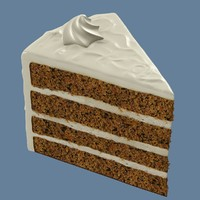Cake Slice - Carrot