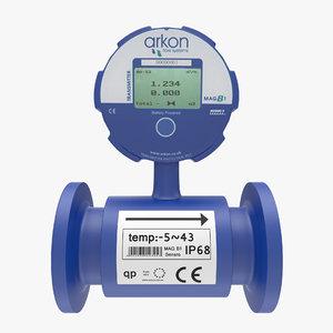3d flow meter