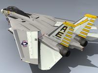 f-14a tomcat vf-142 3d max