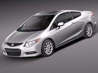 Honda Civic Coupe USA 2012