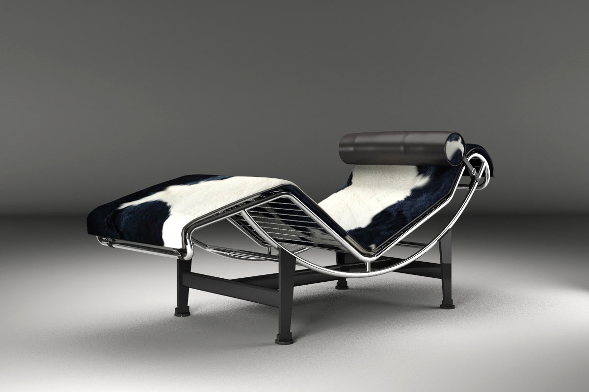 3d model longue corbusier lecorbusier